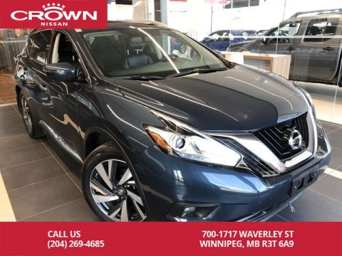 Pre-Owned 2017 Nissan Murano Platinum AWD *Accident Free/Navi/360 Backup Cam*