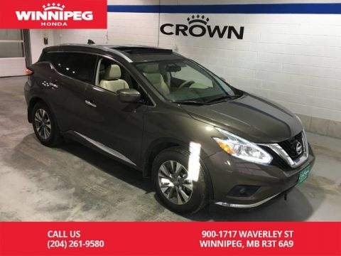 Pre-Owned 2017 Nissan Murano AWD/SV/Bluetooth/Heated seats/Rear view camera