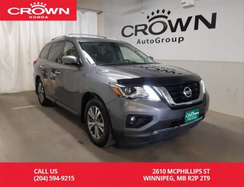 Pre-Owned 2018 Nissan Pathfinder 4x4 SL/ ACCIDENT-FREE/ ONE OWNER/LOW KMS/ 360 camera views/PANORamic sunroof