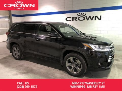 Pre-Owned 2017 Toyota Highlander Limited AWD / Lease Return / Clean Carproof / Local / Great Condition