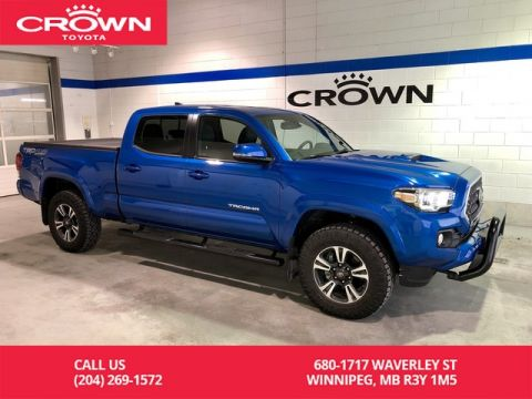 Pre-Owned 2018 Toyota Tacoma TRD Sport Upgrade Pkg / Double Cab / 4 X 4 / Leather / Clean Carproof