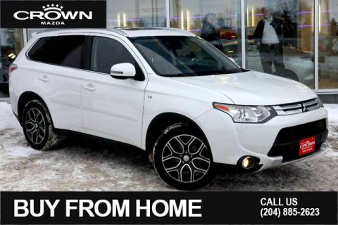 Pre-Owned 2015 Mitsubishi Outlander 4WD GT**Seven Passenger/One Owner/Local Vehicle**