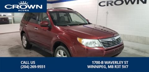 Pre-Owned 2010 Subaru Forester Limited 2.5X ** Heated Leather** Navigation**