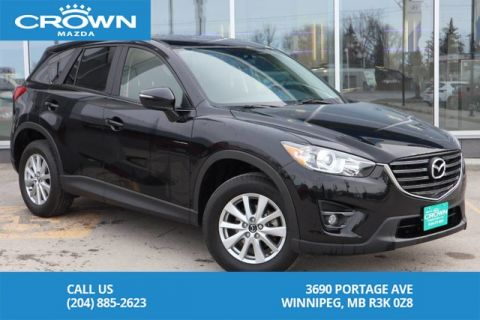 Pre-Owned 2016 Mazda CX-5 2016.5 AWD GS Comfort Pkg *Moonroof *Heated Seats *AWD *Navigati