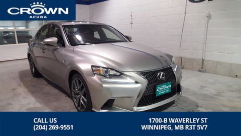 Pre-Owned 2016 Lexus IS 300 F Sport 2 AWD **Red Interior** Includes Winter Tires and Rims**