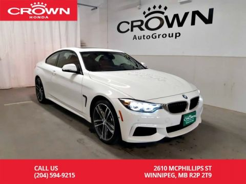 Pre-Owned 2019 BMW 4 Series 440i xDrive/one owner/clean title/low kms/good as new!